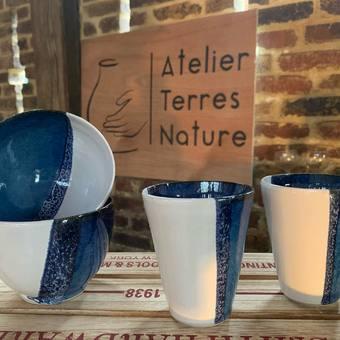 L'Atelier expose … pour la 1ère fois !!!  Venez me rendre visite à La Cité des Brossiers, Tracy le mont #marché #poterie #tracylemont #ceramique #atelierterresnature