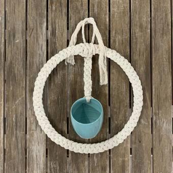 #chic #wallhanging #boheme #bohodecor #macrame #artisanatfrancais #poterie #gres #faitmain #atelierterresnature
