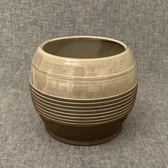 Vase boule - #vases #poteries #ceramique #bouquetrond #decor #faitmain #vexin #france #atelierterresnature